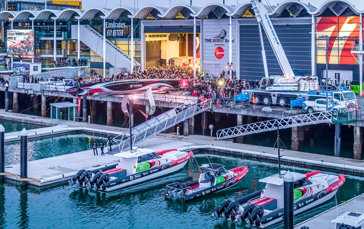 COASTGUARD GUEST BLOG: THE AMERICA'S CUP PROJECT